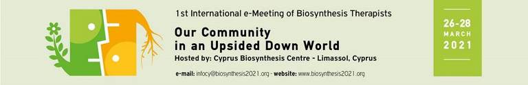 Dear Colleagues  We welcome you to the Web site for the first International e-meeting of Biosynthesis Therapists.
