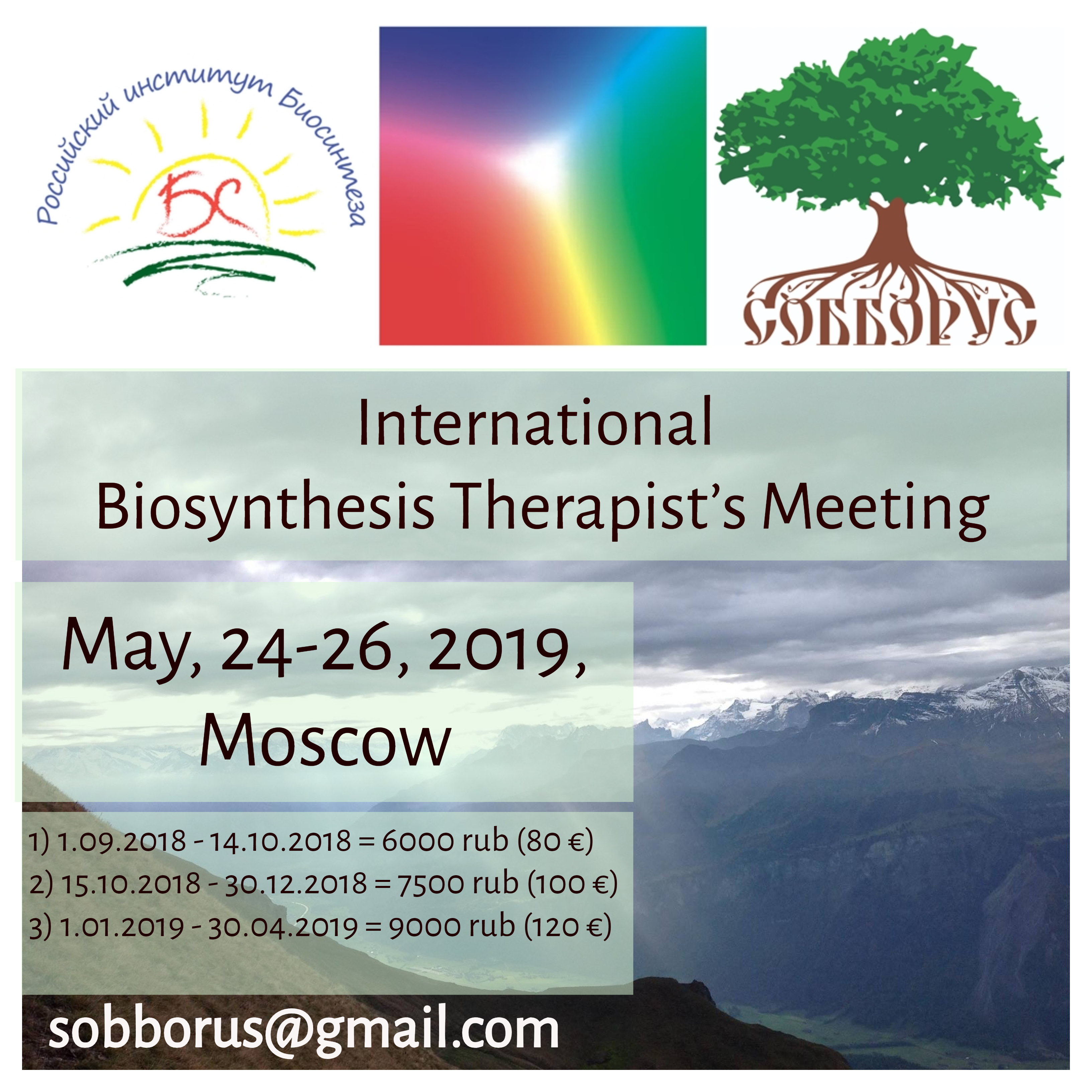 International Biosynthesis Therapist's Meeting